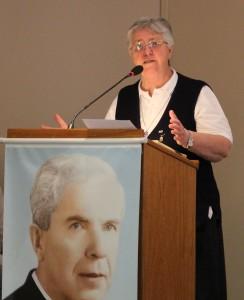 La Hermana Leda Brelli, ferviente devota del Padre Juan Schiavo